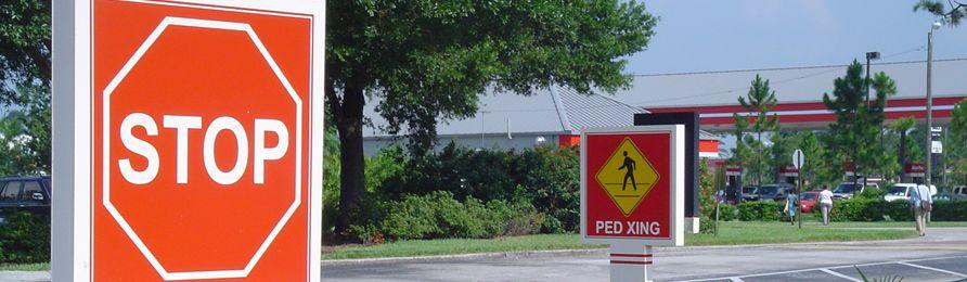 Regulatory And Ada Signs Custom Control Traffic