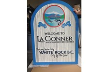 - Monument Sign - Sandblasted Sign - City of La Conner - La Conner, WA